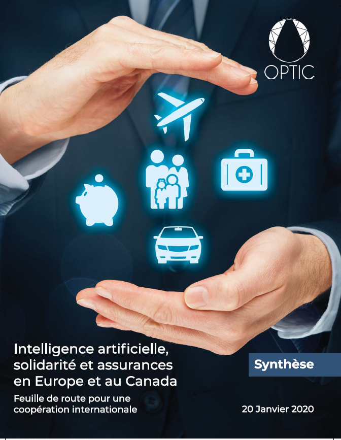 Synthèse du rapport Intelligence artificielle solidarité et assurances en Europe et au Canada